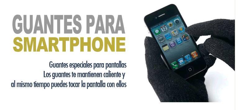Oferta Guantes para Smartphone personalizados