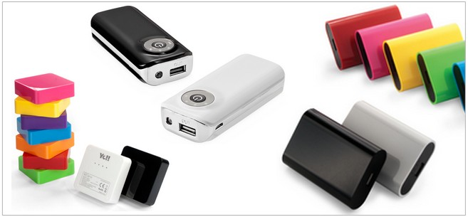 baterías power banks personaliazadas