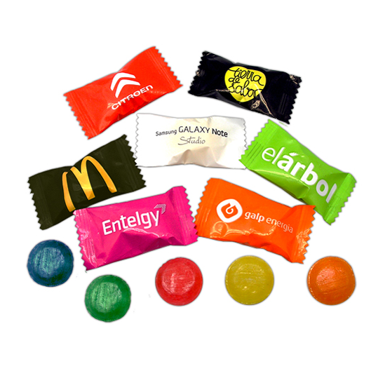 Oferta ofertas caramelos publicitarios