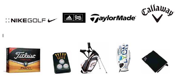artículos de golf promocional