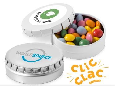 Latas caramelos personalizadas, desde 1,12€/ud